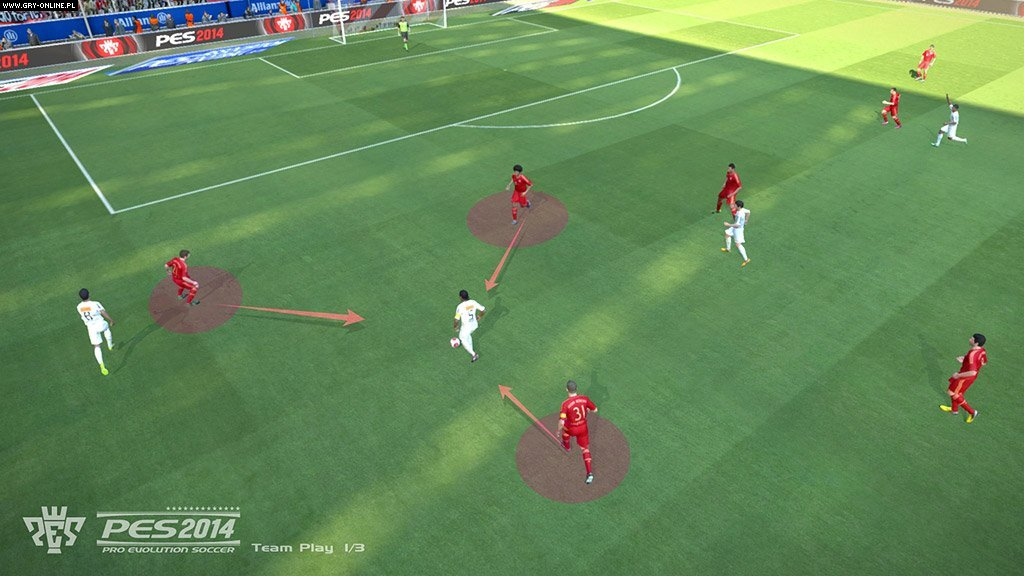 Pro Evolution Soccer 2014 PC, X360, PS3 Gry Screen 35/46, Konami