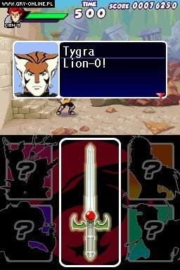 Thundercats NDS Gry Screen 14/19, Aspect Digital Entertainment, Bandai Namco Entertainment