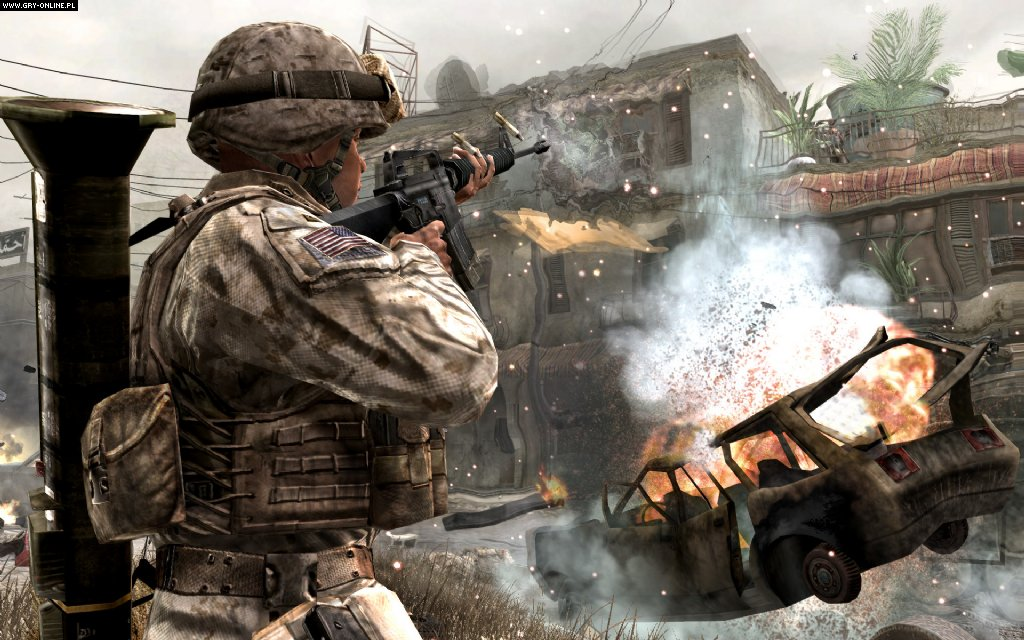 Call of Duty 4: Modern Warfare X360 Gry Screen 120/139, Infinity Ward, Activision Blizzard