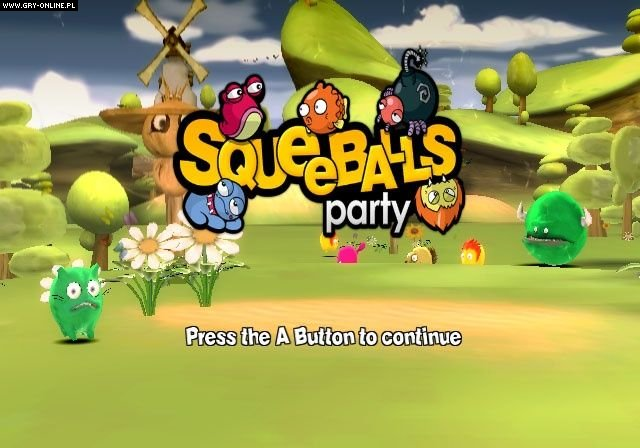 Squeeballs Party Wii Gry Screen 16/68, Handheld Games, Aksys Games