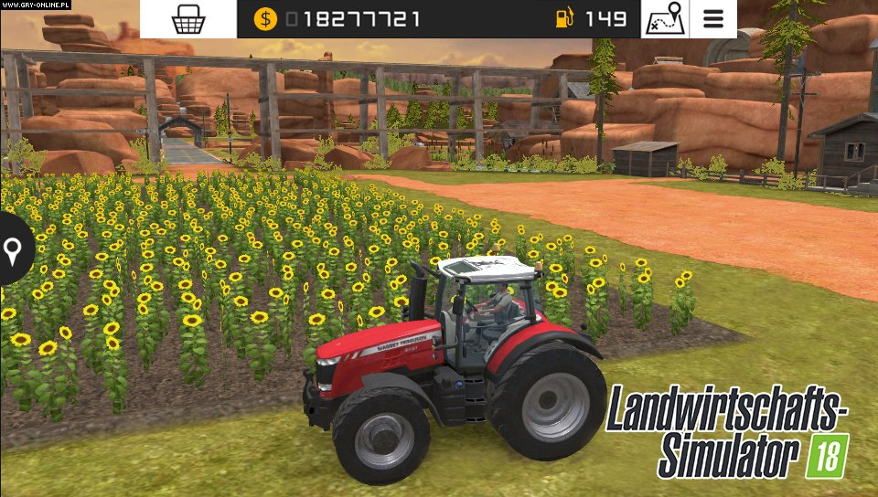 Farming Simulator 18 3DS, PSV Gry Screen 2/5, GIANTS Software, Focus Home Interactive