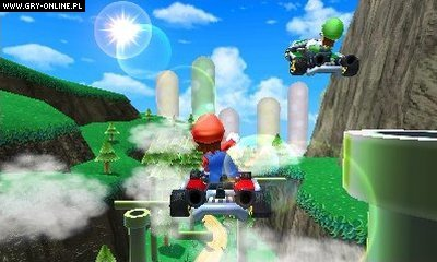 Mario Kart 7 3DS Gry Screen 21/38, Nintendo