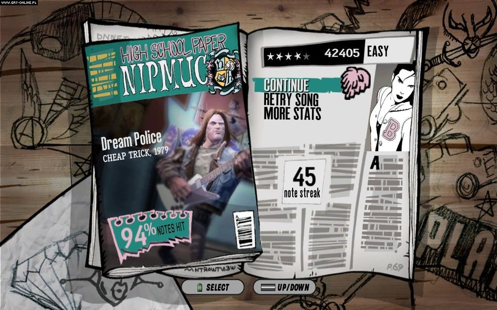 Guitar Hero: Aerosmith PC Gry Screen 5/44, Neversoft Entertainment, Activision Blizzard
