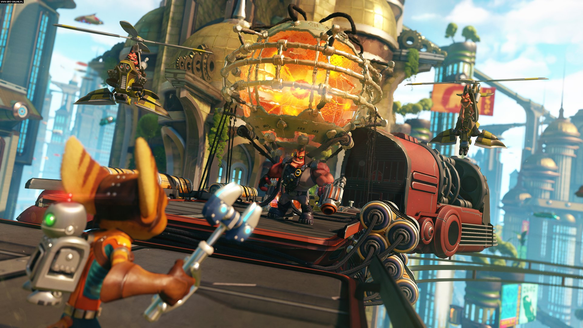 Ratchet & Clank PS4 Gry Screen 12/15, Insomniac Games, Sony Interactive Entertainment