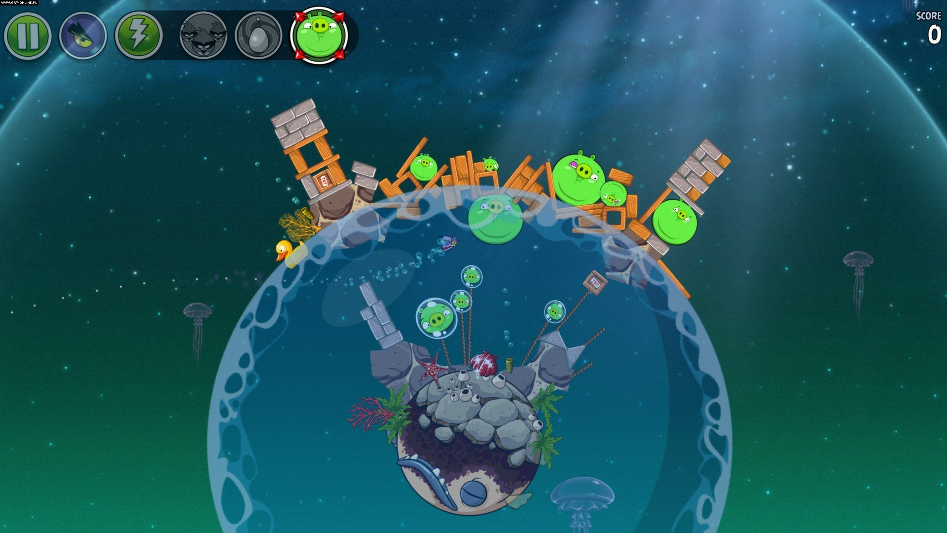 Angry Birds Space PC, AND, iOS, WP Gry Screen 4/10, Rovio Entertainment