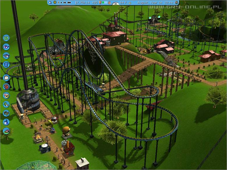RollerCoaster Tycoon 3 PC Gry Screen 2/40, Frontier Developments, Atari / Infogrames