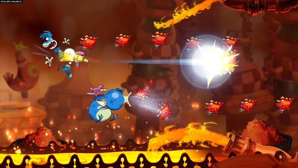 Rayman Origins X360, PS3 Gry Screen 40/76, Ubisoft