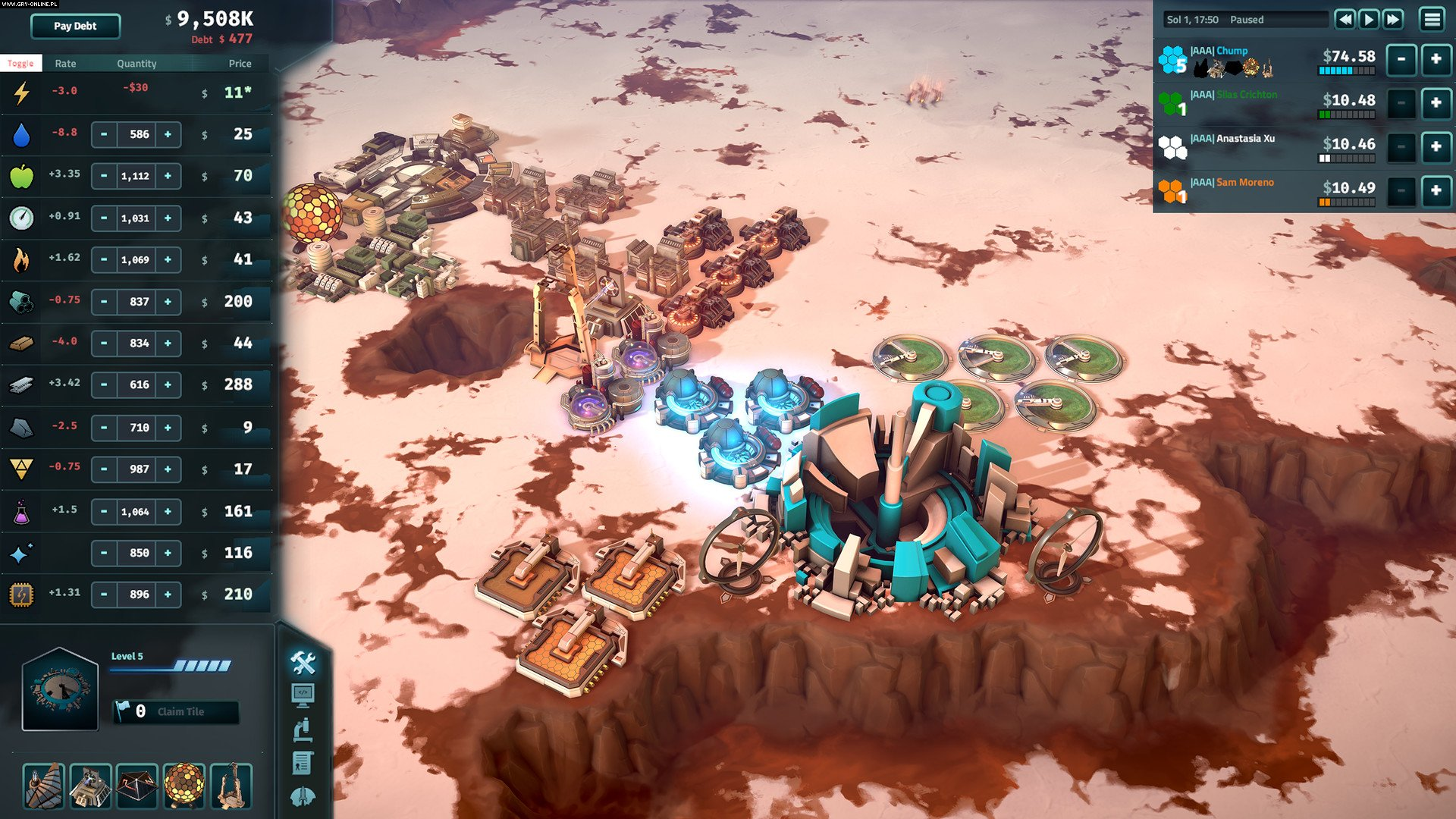 Offworld Trading Company PC Gry Screen 8/9, Mohawk Games, Stardock Corporation