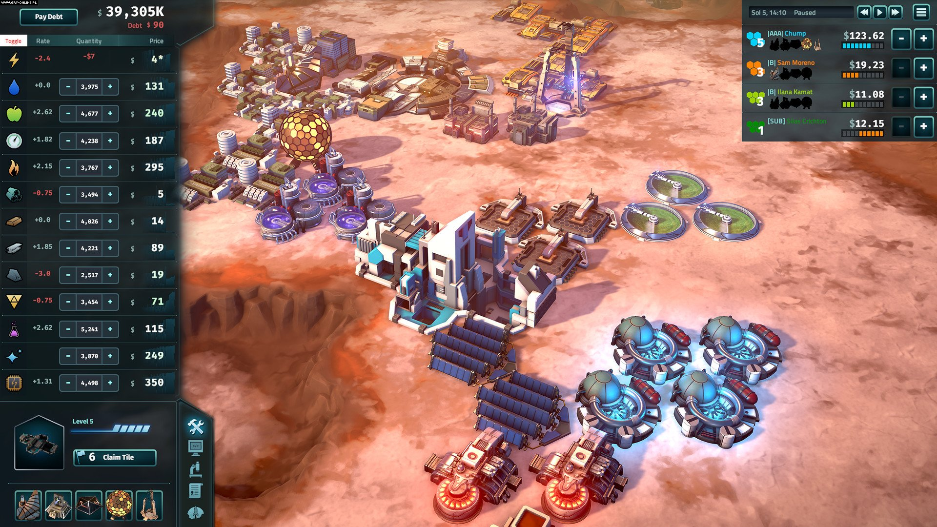 Offworld Trading Company PC Gry Screen 7/9, Mohawk Games, Stardock Corporation