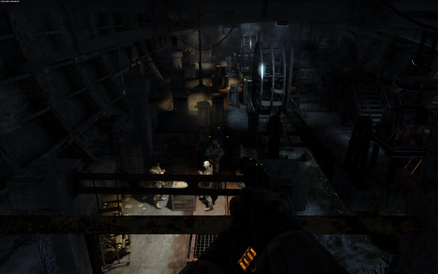 Metro: Last Light PC Gry Screen 26/86, 4A Games, Deep Silver / Koch Media