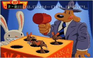 Sam & Max Hit the Road PC Gry Screen 5/8, LucasArts