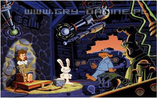 Sam & Max Hit the Road PC Gry Screen 2/8, LucasArts