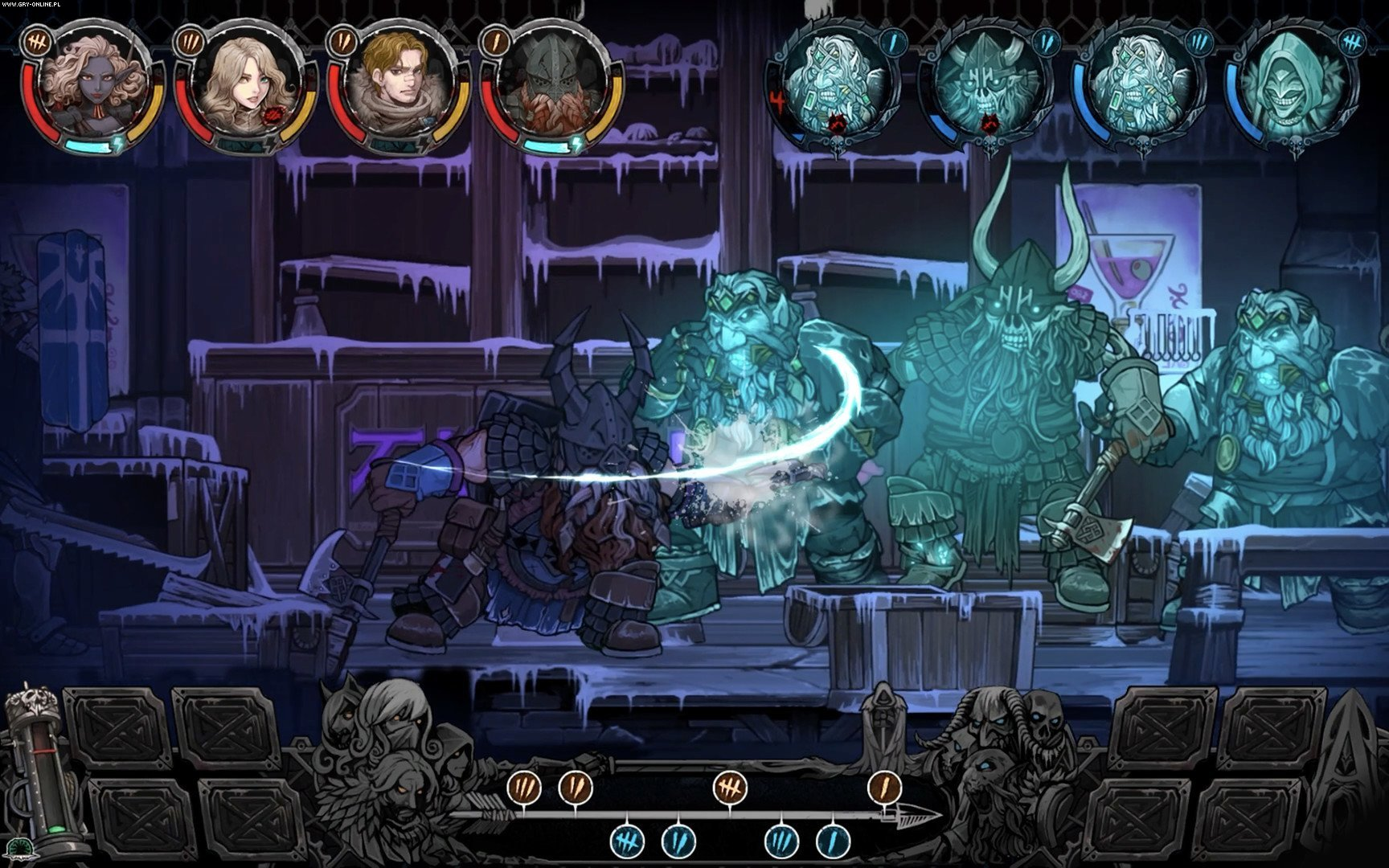 Vambrace: Cold Soul PC, PS4, XONE, Switch Gry Screen 5/20, Devespresso Games, Headup Games