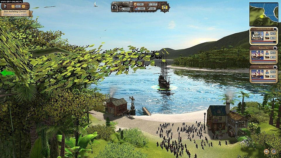 Port Royale 3: Pirates & Merchants PC, X360, PS3 Gry Screen 2/46, Kalypso Media
