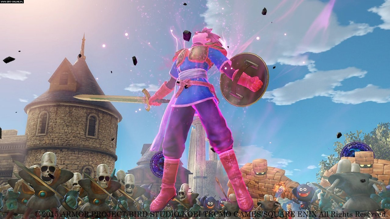 Dragon Quest Heroes: The World Tree's Woe and the Blight Below PC, PS4 Gry Screen 10/89, Omega Force, Square-Enix / Eidos