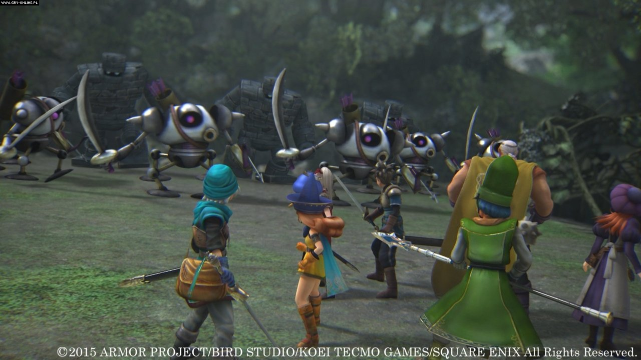 Dragon Quest Heroes: The World Tree's Woe and the Blight Below PC, PS4 Gry Screen 9/89, Omega Force, Square-Enix / Eidos