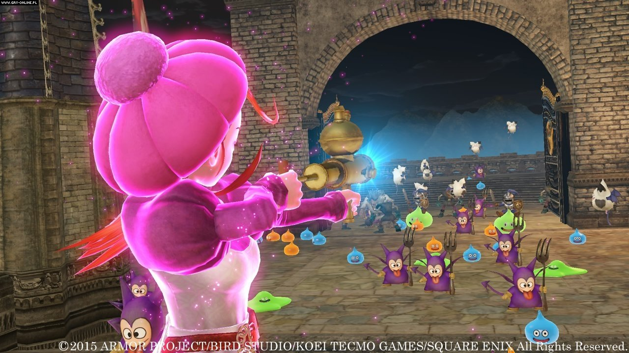 Dragon Quest Heroes: The World Tree's Woe and the Blight Below PC, PS4 Gry Screen 6/89, Omega Force, Square-Enix / Eidos