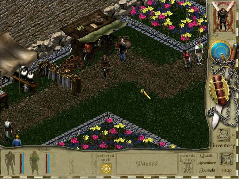 Siege of Avalon PC Gry Screen 5/9, Digital Tome