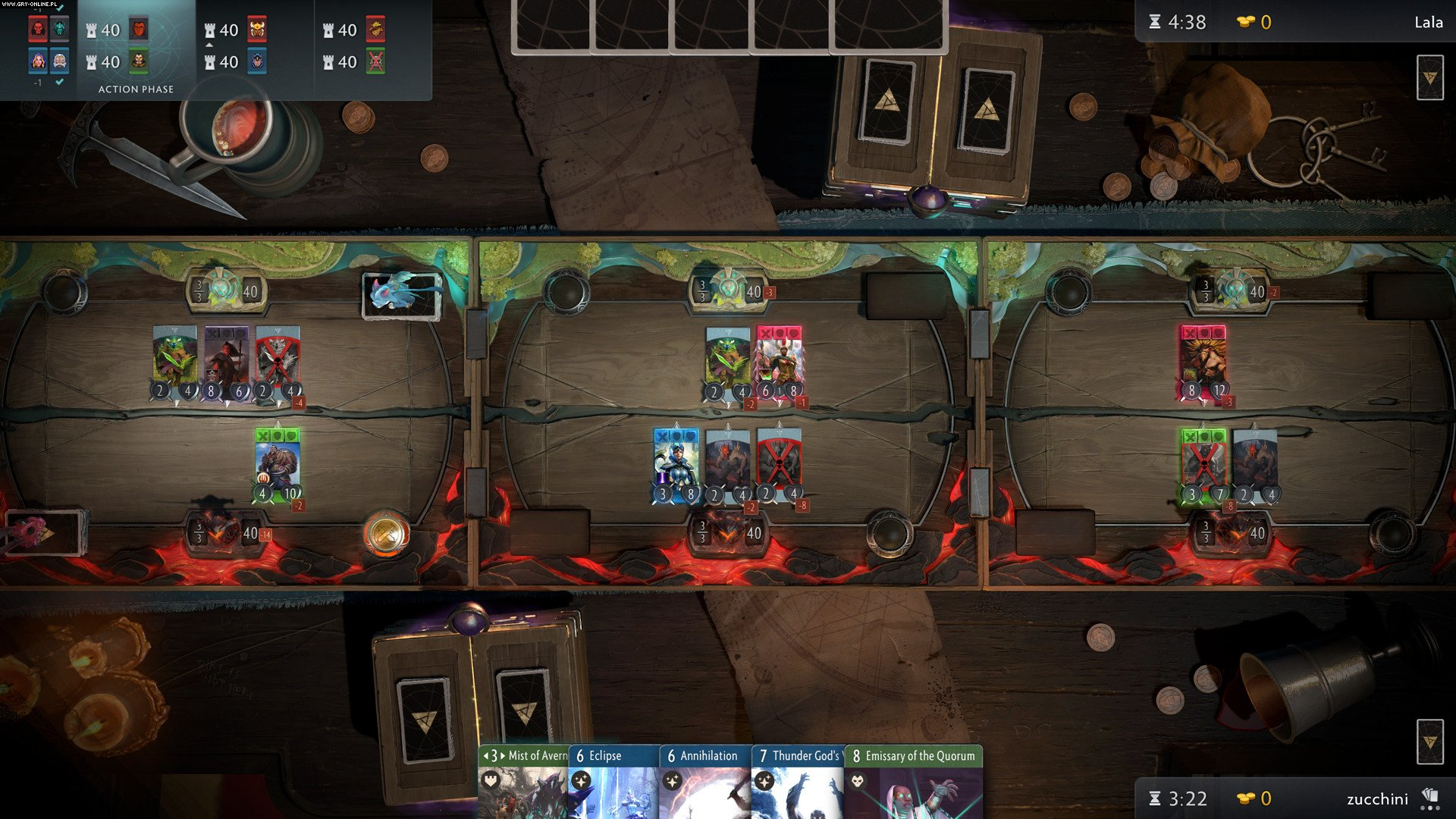 Artifact PC, AND, iOS Gry Screen 7/9, Valve Corporation