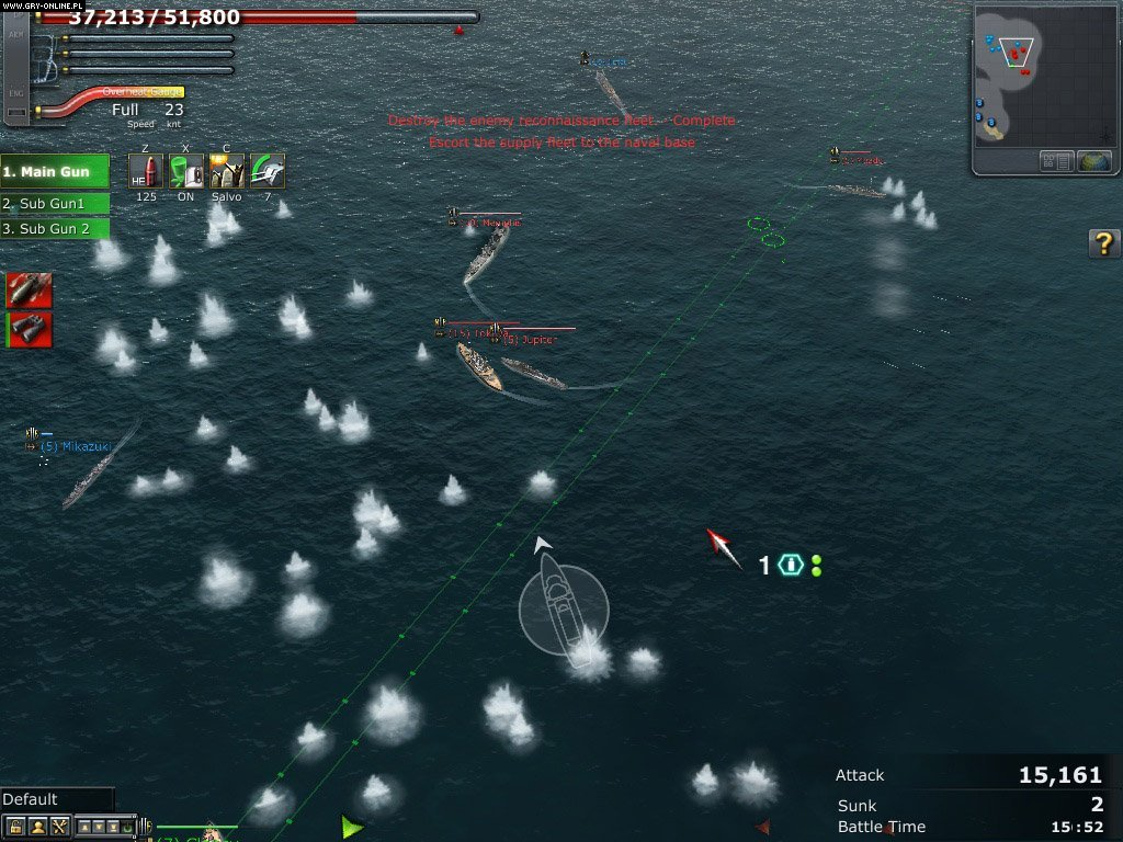 Navy Field 2: Conqueror of the Ocean PC Gry Screen 19/30, SD EnterNet Co., Nexon Inc.