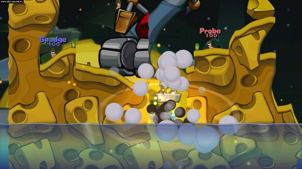 Worms 2: Armageddon X360 Gry Screen 86/98, Team 17