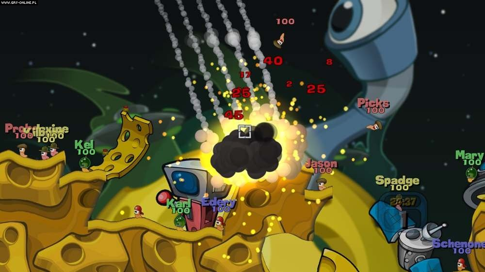 Worms 2: Armageddon X360 Gry Screen 84/98, Team 17
