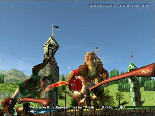 Harry Potter: Mistrzostwa świata w quidditchu PS2 Gry Screen 20/66, Electronic Arts Inc.