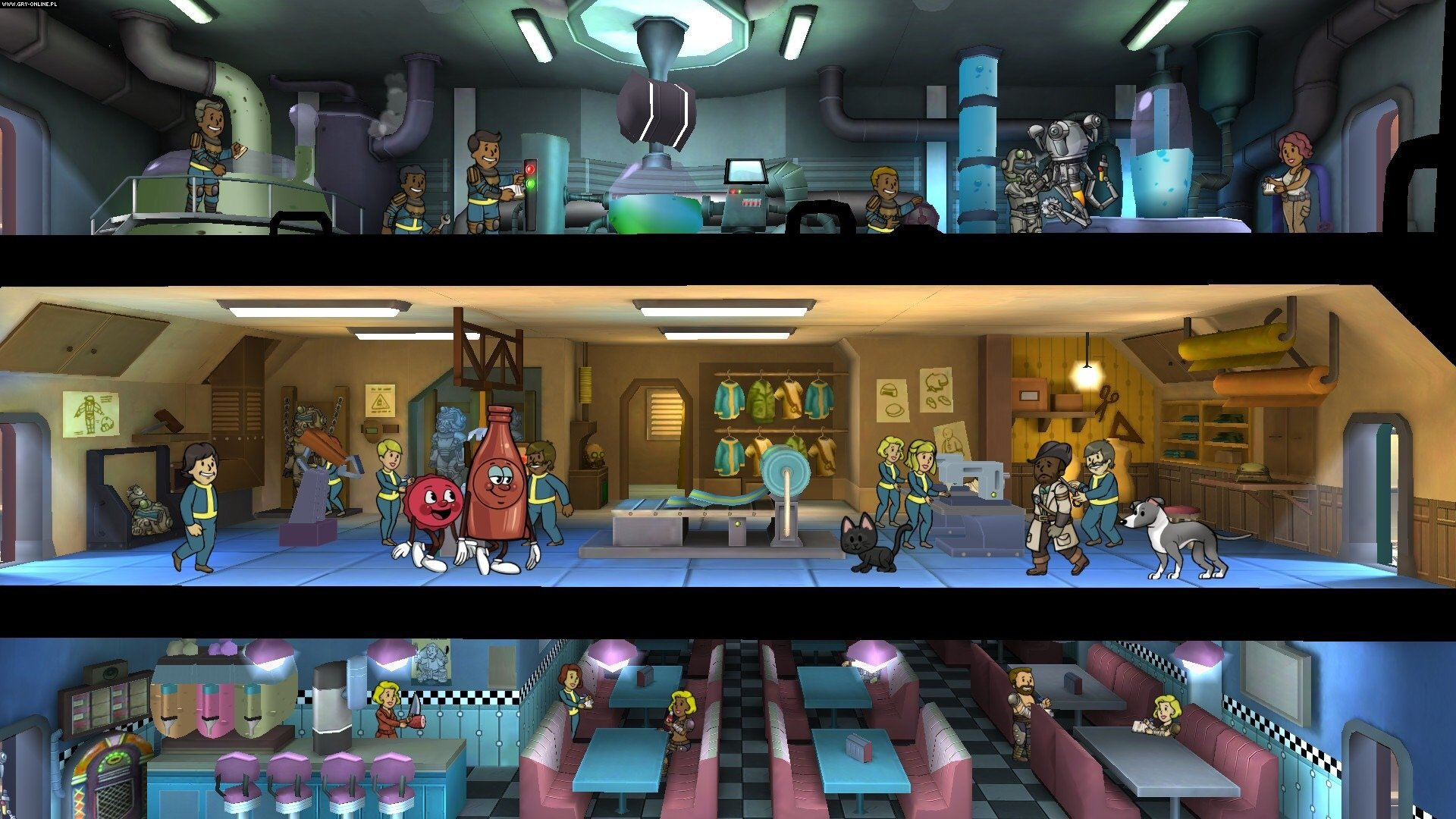Fallout Shelter PC, PS4, XONE, AND, iOS, Switch Gry Screen 5/19, Bethesda Softworks