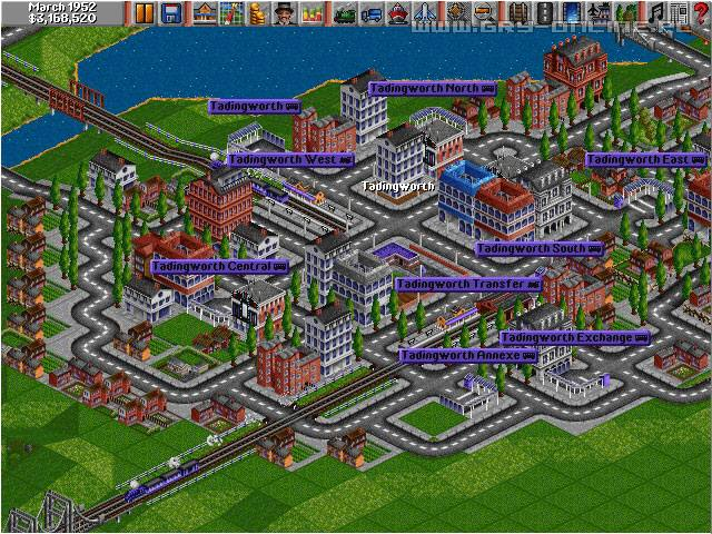 Transport Tycoon PC Gry Screen 5/8, Microprose