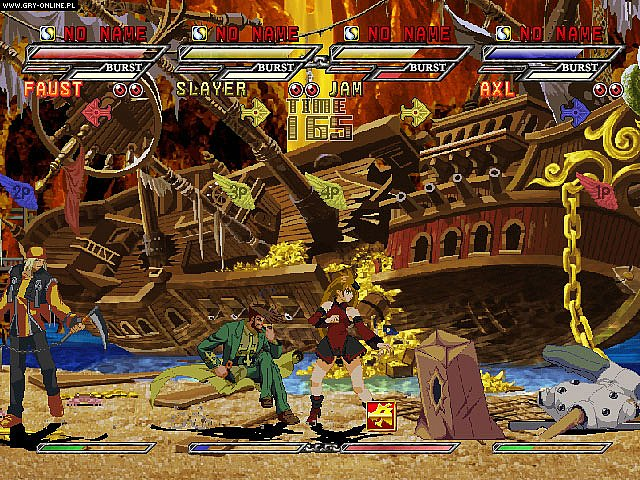 Guilty Gear Isuka PC Gry Screen 2/21, Arc System Works, Sammy