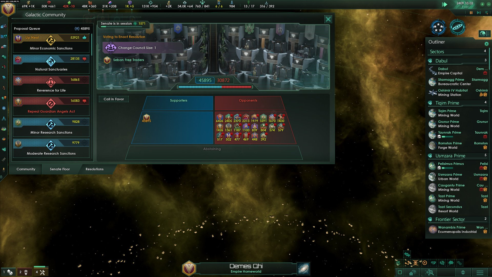 Stellaris: Federations PC Gry Screen 4/8, Paradox Development Studio, Paradox Interactive