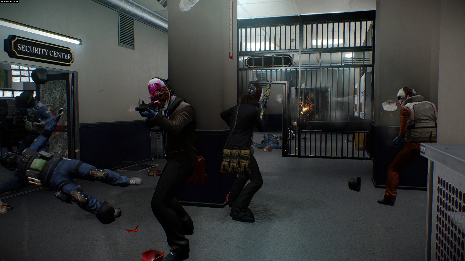 PayDay 2 PC, X360, PS3, PS4, XONE Gry Screen 5/114, OVERKILL Software, 505 Games