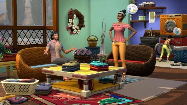 The Sims 4 - gracz uwięził około 200 Simów w jednym pomieszczeniu