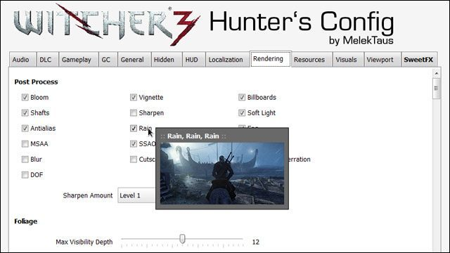 FULL W3HC 0.7.2 - Witcher 3 Hunter's Config incl. SweetFX - PRL Wald