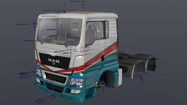 Euro Truck Simulator 2 GAME TOOL SCS Software Blender Tools