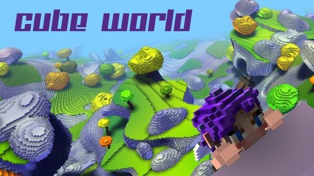 Download cube world beta be careful of fake promises.