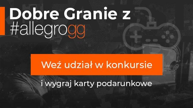 704fb62ab4229 Przypominamy o trwającym letnim kiermaszu gier serwisu Allegro.pl oraz  połączonym z nim konkursem Dobre Granie z #allegrogg, w którym do wygrania  jest 10 ...
