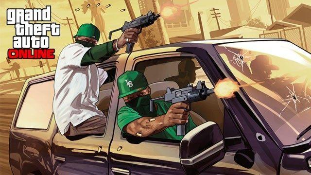 Grand Theft Auto Online - Akcji