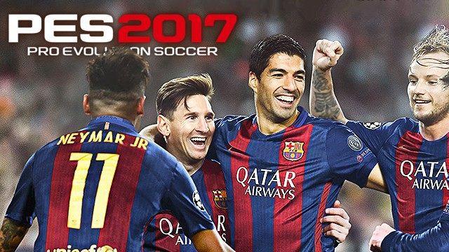 Pro Evolution Soccer 2017 GAME TRAINER v1 02 +7 TRAINER - download