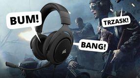 Słuchawki gamingowe i głośniki