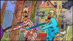 Komiks Złamany ołówek
