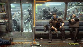 Cyberpunk 2077 - metro właśnie odjechało