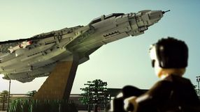 Zwiastun Top Gun 2 odtworzony klockami LEGO