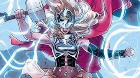 Potê¿na Thor z Mjolnirem na pierwszych grafikach z Thor: Love and Thunder
