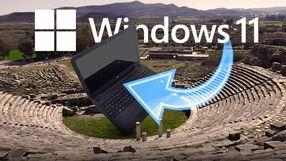 Zainstalowałem Windowsa 11 na antycznym laptopie