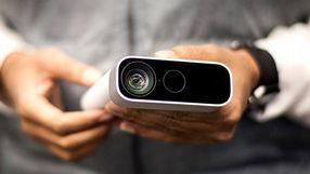 Kinect użyty jako kamera na lotnisku