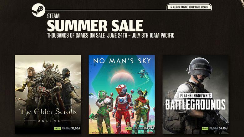 Steam Summer Sale 2021 - ruszyła wielka letnia promocja
