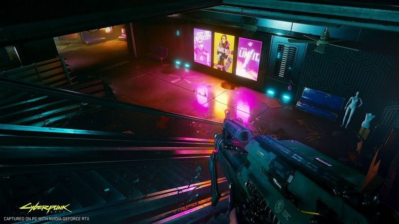 GeForce RTX 3080 w stylu Cyberpunk 2077