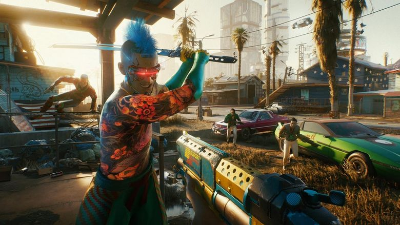 Gracze instalują Cyberpunka 2077 1.0 na PS4, by zdobyć zbugowane trofeum