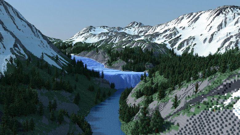 Mapa do Minecrafta tak realistyczna, że gracze mylą ją z prawdziwym zdjęciem